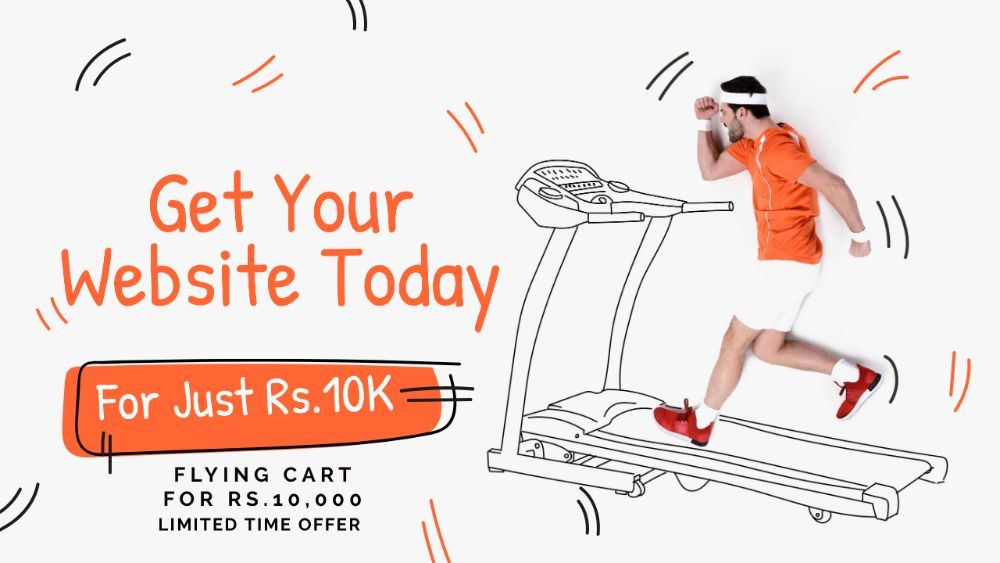 Flying Cart in Budget eCommerce Website For Rs 10000