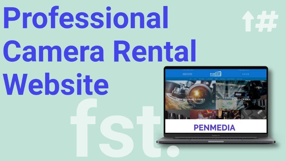 Penmedia Camera Rental Website India Flying Star Portfolio