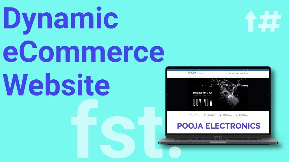 Pooja Electronic ScreenshotPortfolio Banner